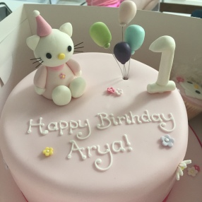Party Hello Kitty Cake
